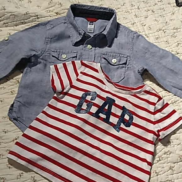 GAP Other - Two little shirts. Both baby GAP 18 - 24 months